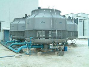 برج خنک کننده|برج های خنک کننده شرکت الماس غرب